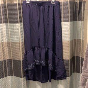 Knox Rose High Low Maxi Skirt